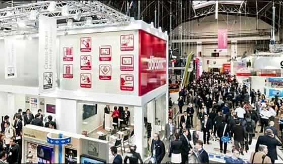 Mobile World Congress Held In Shanghai