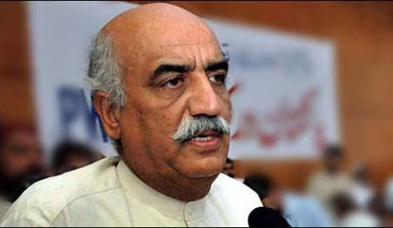 We Will Ask Imran Khan For Falling Wickets Khursheed Shah