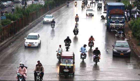 Rain Continues In Karachi Today