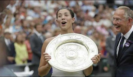 Garbine Muguruza Beats Venus Williams In Women Wimbledon Final 2017
