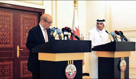 France Wants To Assist Kuwait Led Mediation In The Gulf Crises