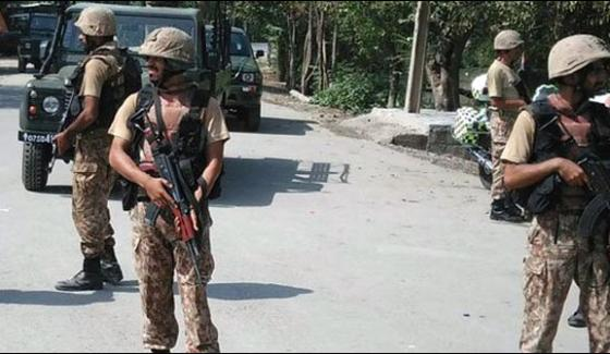 Chaman Blast In Fc Post Officlas Martyred