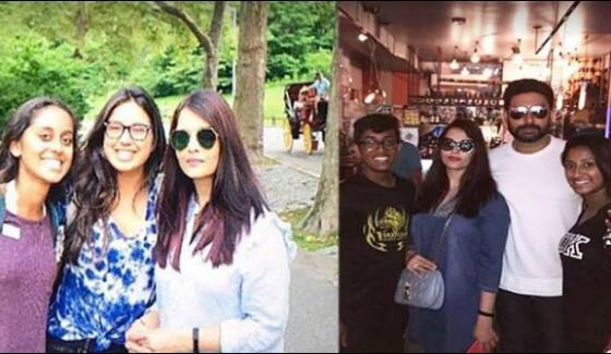Aishwarya And Abhishek Bachchan In Nwe York Meet Admirers