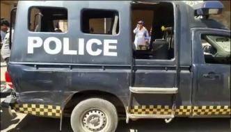 Firing On Police Mobile In Naseerabad