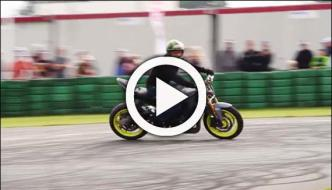 Dutch Biker Shows Most Amazing Stunts