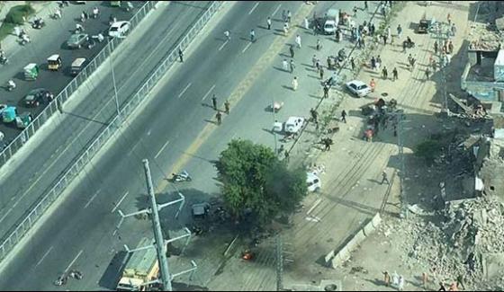 Lahore Blast On Feroze Road 26 People Killed