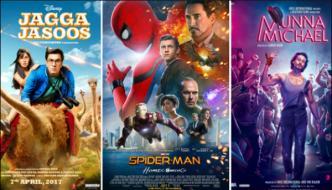 گزشتہ ہفتے باکس آفس پر راج کرنے والی فلموں پر ایک نظر