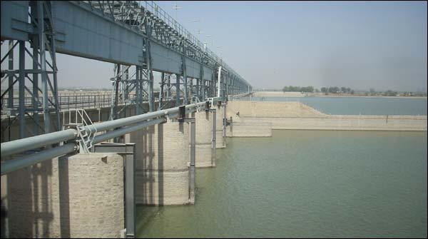 Flood In Guddu Barrage