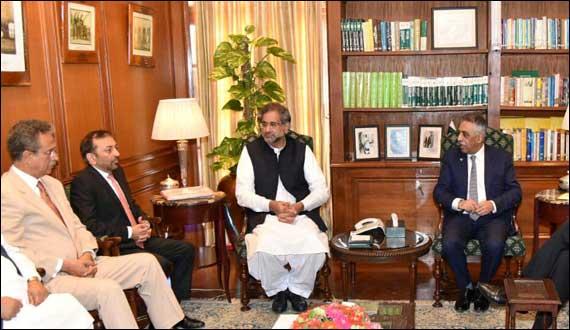 Primie Minister Shahid Khaqan Abbasi Announces Karachi Package