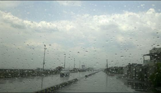 Rainy Weather In The Morning In Different Areas Of Karachi