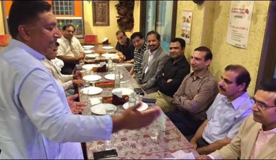 Tokyo The Pakistani Embassy Secondary Secretary Honor Dinner