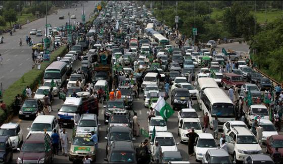 Traffic Plan For Nawaz Sharifs Caravan