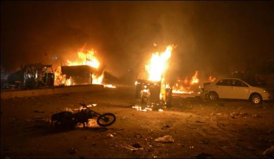Fifteen Dead 30 Injured In Quettas Pishin Stop Explosion