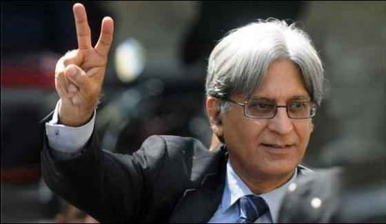 Nawaz Sharif Has Come Under The Hold Of Law Aitzaz Ahsan