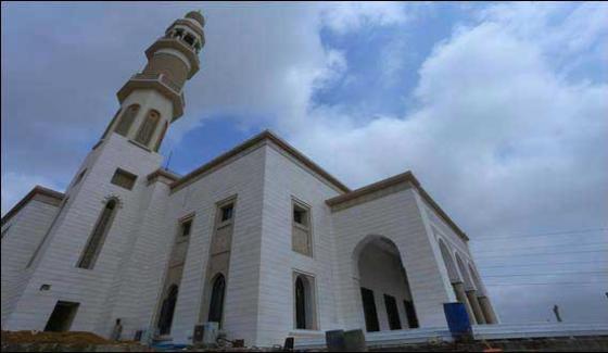 Opening Of Jamia Mosque Bahria Town Karachi