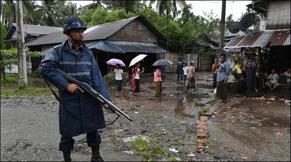 Myanmar Deploy More Military Forces In Rakhine State