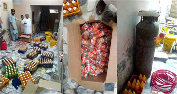 Bottle And Juice Factories Sealed In Lahore