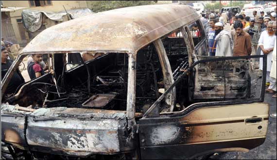 Van Driver And Owner Arrested In Krachi