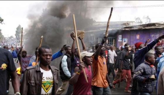 Kenya Kills 24 In Protest Demonstrations