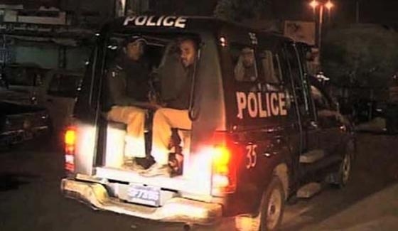 Karachi Police Arrest Drugsdacoits Including 36 Suspects