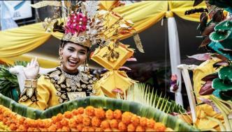 Flowers Festival Of Indonesia Organized In Indonesia