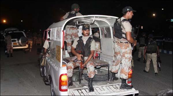 Karachi Rangers Cordon Off Karachi Central Jail Area Perform Drill