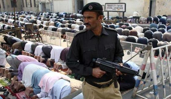 Directive Of Security Arrangements From Ig Sindh For Friday Prayers