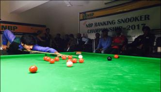 National Ranking Snooker Championship Muhammad Ishtiaq Reached Quarter Final