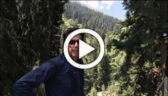 Imran Khan Visits To Kaghan Mah E Noor Valley
