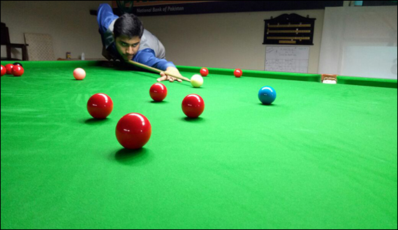 Quarter Final Of Nbp Snooker Championship To Be Held On Sunday