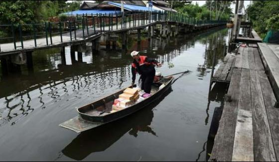 Thailand In Introduce Postal Boats
