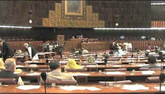 Opposition Protest In National Assembly Meeting