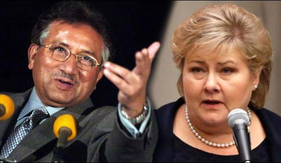 Pervez Musharraf Refused To Meet The Norwegian Prime Minister In Norway