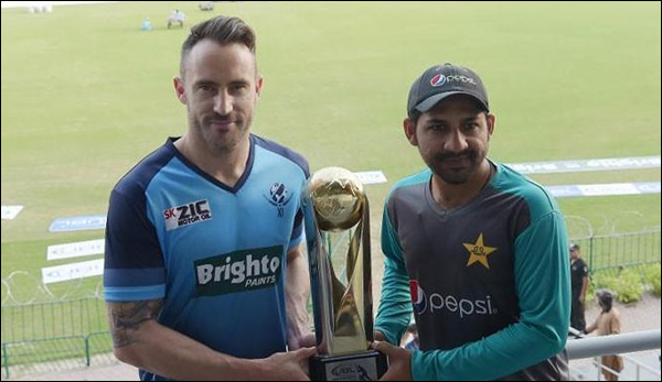 World Cricket Returns Pakistani Team Ready For Tournament With World Xi
