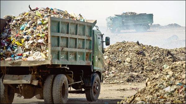 Dumping Of Garbage In Residential Areas Of Karachi