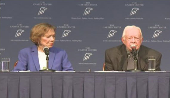 Money In Politics Alienate People From Democracy Jimmy Carter