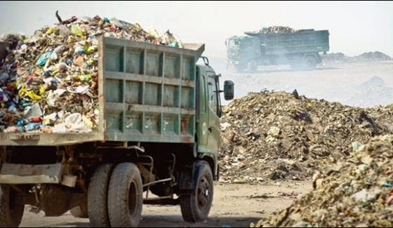 Dumping Of Garbage In Residential Areas Of Karachi