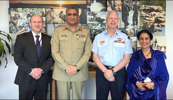 Army Chief Visits Australia Military And Civil Leadership Meetings