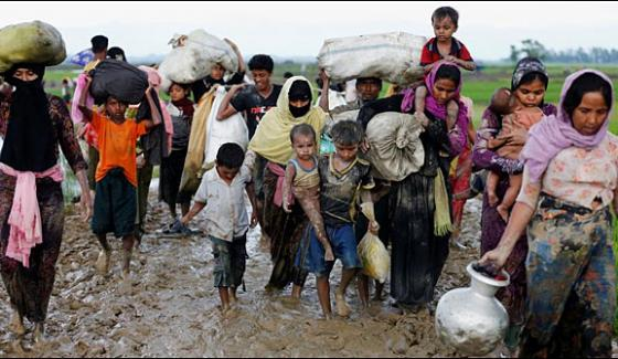 The Number Of Rohingya Muslims Who Arrived In Bangladesh Rose To 4 Lac