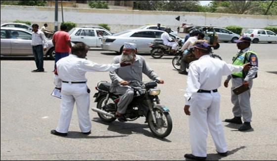 Campaign Will Start Against Motorcyclists Not Wearing Helmets In Karachi