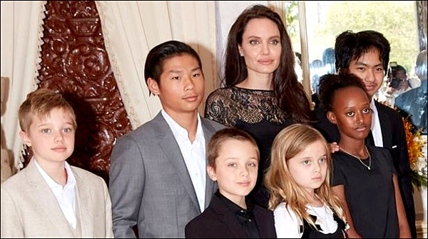 Angelina Jolie Moves To New Home With Children