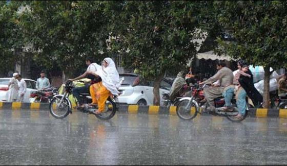 Rain In Lahore