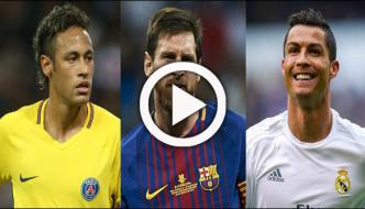 Best Mens Fotballer Award Ronaldo Messi And Neymar Short List