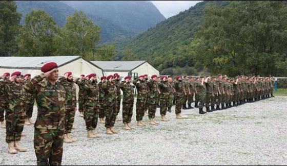 Pakistan Russia Armies Begin Joint Military Drills Druzba 2017