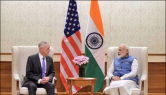 Us Defence Secretary Meets Indian Prime Minister