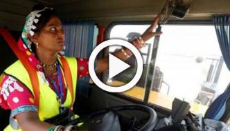 In A First Women Replacing Men In Truck Driving Jobs In Thar Coal Mine
