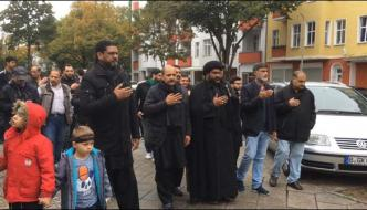 Ashura Procession In Berlin Germany