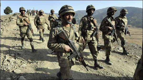 The Pak Army Recovers 5 Foreign Hostages