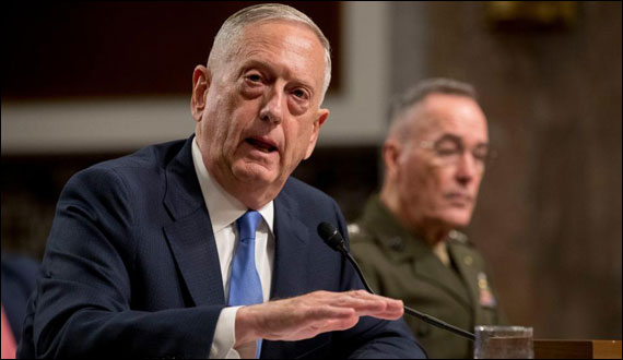 Us Turkey Military Relations Good Despite Diplomatic Row Mattis