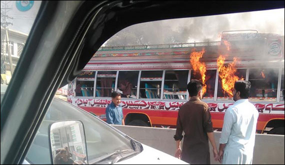 Daska Student Killed In Accident Bus On Fire